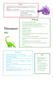 Dinosaurs KS1
